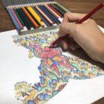 オンライン講座(全2回)「敦煌壁画ぬり絵と絵解き解説」